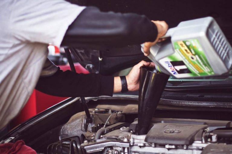 Car service oil change