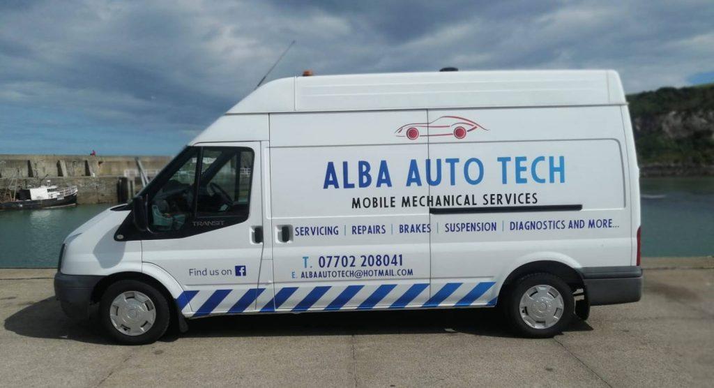 Alba Auto Tech Van