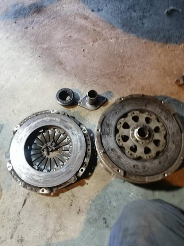 Replacement parts for clutch and flywheel